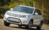 The low kerb weight of the Suzuki Vitara enables bris progress and competent dynamics
