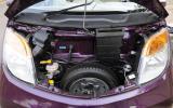 Two-cylinder Tata Nano Twist engine