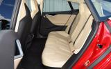 Tesla Model S P90D rear seats