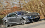 Tesla Model S 95d cornering
