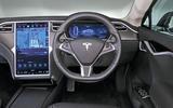 Tesla Model S 95D dashboard