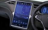 Tesla Model S 95D infotainment system