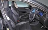 Tesla Model S 95D interior