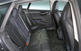 Tesla Model S 95D rear seats