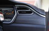 Tesla Model S air vents