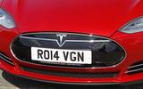 Tesla Model S front grille