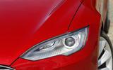 Tesla Model S headlights