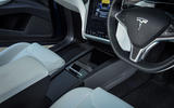 Tesla Model X centre console