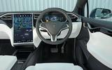 Tesla Model X dashboard