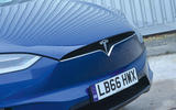Tesla Model X front grille
