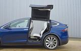 Tesla Model X rear access