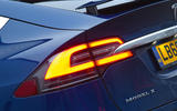 Tesla Model X rear LED lights