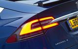 Tesla Model X rear LED lights