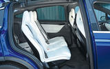 Tesla Model X rear seats
