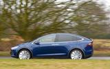 Tesla Model X side profile