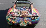 Tesla reveals Roadster art car