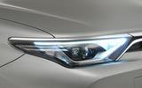 Toyota Auris headlights