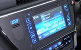Toyota Auris infotainment
