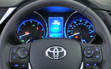 Toyota Auris instrument cluster