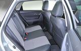 Toyota Auris rear seats