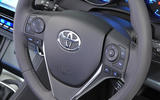 Toyota Auris steering wheel controls