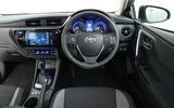 Toyota Auris Touring Sports dashboard
