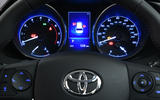 Toyota Auris Touring Sports instrument cluster