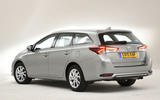 Toyota Auris Touring Sports rear quarter