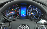 Toyota Avensis instrument cluster