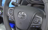 Toyota Avensis steering wheel controls