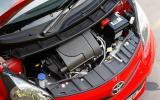 1.0-litre Toyota Aygo engine