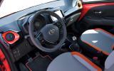 Toyota Aygo prototype dashboard