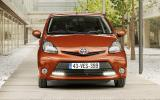 Updated Toyota Aygo shown