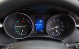 Toyota C-HR instrument cluster