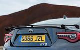 Toyota GT86 rear wing