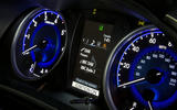 Toyota Hilux instrument cluster