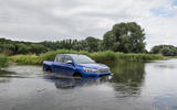 Toyota Hilux wading
