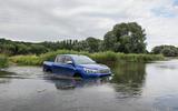Toyota Hilux wading