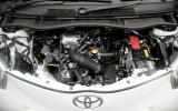 Toyota iQ engine bay