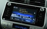 Toyota Land Cruiser 2018 review infotainment
