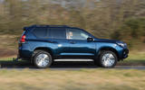 Toyota Land Cruiser 2018 review on the road side