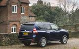 Toyota Land Cruiser rear quarter