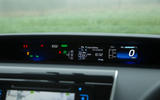Toyota Mirai information display