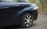 Toyota Mirai rear wheelarch