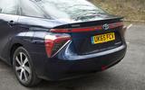 Toyota Mirai rear end