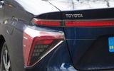 Toyota Mirai rear lights