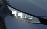 Close-up of the Toyota Mirai headlight