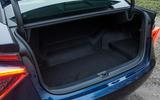 Toyota Mirai boot space