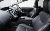 Toyota Prius+ interior