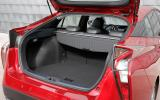 Toyota Prius boot space